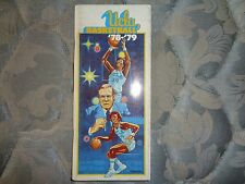 1978-79 UCLA BASKETBALL MEDIA GUIDE Yearbook Fact Book Program 1979 College AD