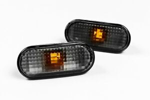 VW Transporter T5 03-09 Smoked Side Indicators Repeaters Pair Driver Passenger