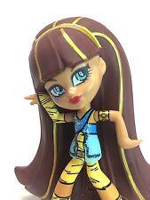 """Mattel 2014 Monster High Cleo De Nile 4"""" Vinyl Doll Figure EUC"""