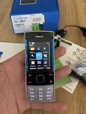 Nokia  X3-00 - Silberblau (Ohne Simlock) 100% Original !! Neu!!