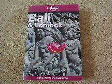 LONELY PLANET TRAVEL BOOK BALI AND LOMBOK 7TH EDITION