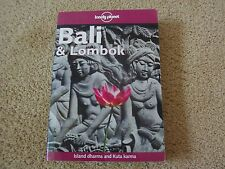 Lonely Planet Travel Book Bali et Lombok 7TH Edition