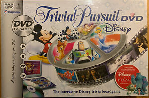 Disney Trivial Pursuit DVD Board Game