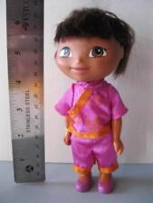 "2005 Dora the Explorer Hispanic GIRL BABY DOLL 6.5"" TALL-KIMONO CLOTHES SHOES"