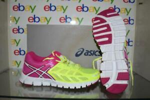 Asics Gel LYTE33 T2H7N 0401 Womens Running Shoes Neon Yellow/White/Hot Pink NIB