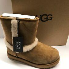 Botas Ugg Australia Hadley UK 3 Castaño de piel de oveja Chicas/Mujer Nuevo £ 85