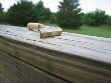 Nice Schick Injector Type E (1935-1945) Cream Bakelite Handle Gold Tone