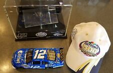 Ryan Newman 2008 Daytona 500 Winner 1:24 Charger with mirrored case and Hat
