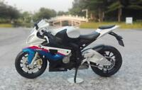 Maisto 1/12 S1000RR Diecast Motorcycle Collectible Vehicle Model Toy Gift