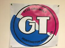 old school bmx gt circle BANNER 2ft X 2ft vdc hutch gt se racing
