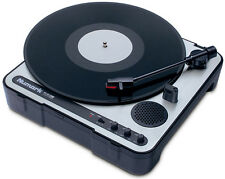Numark PT-01USB Portable Pro Audio Vinyl DJ Turntable To Mp3 / Wav Converter New