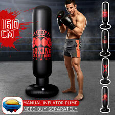 Boxing Punch Bag Inflatable Free Standing Kick ing Kids Adult Martial