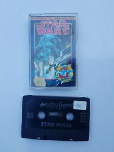 Amstrad Cpc/464/664 Star Wars Cassette The Hit Squad 1987