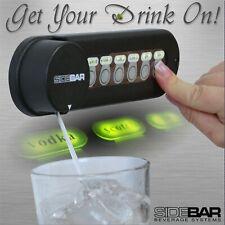 SIDEBAR Beverage and Liquor Dispenser System, NEW 6880-V Series - LOW PROFILE