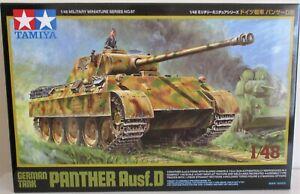 Tamiya 32597 - Panther Ausf.D German Tank       1:48 Scale Plastic Kit   NEW