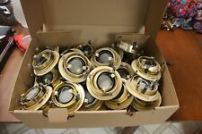 Lot of 33 Halo 1498 polished brass can light