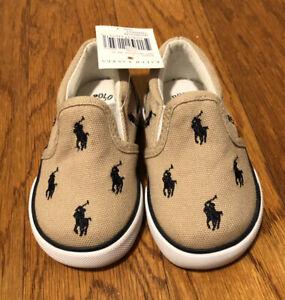 Polo Ralph Lauren Baby Slip On Sneakers 4C