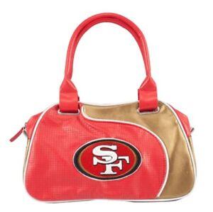 NFL San Francisco 49ers Perfect Bowler Purse Hand Bag