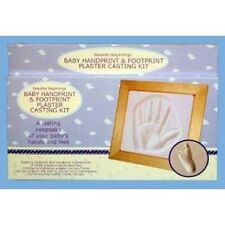 BABY'S FIRST HANDPRINT AND FOOTPRINT PLASTER MOULDING KIT