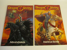 DRAGON STRIKE Original INSTRUCTION & ADVENTURE BOOKLETS by TSR New!!