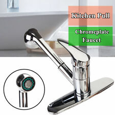 All Copper Kitchen Sink Mixer Tap Basin Faucet Pull Out Spout Brass Chrome