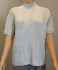 Laura Scott Women's Beige Short-Sleeved Sweater Size XL