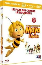 Blu Ray 3D + DVD : La Grande Aventure de MAYA L'ABEILLE - Le Film / NEUF cello.