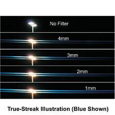 New Schneider 82mm STREAK BLUE 2mm Rotate Filter Anamorphic Lens Streaks Effect