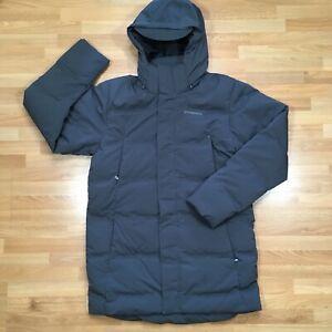 Patagonia Jackson Glacier Parka Mens Medium Long Puffer Jacket Down Retail $449