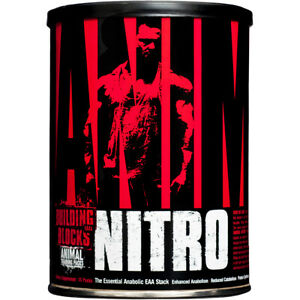Universal Nutrition Animal Nitro - 30 pack - Anabolic EAA Stack Muscle Builder