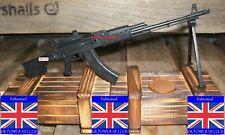 1:6 MINIATURE FIREARM COLLECTORS KALASHNIKOV RPK 74M LIGHT MACHINE GUN + BIPOD