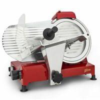 H.KOENIG Allesschneider Schneidemaschine 0-12mm Messerschärfer 240 Watt rot