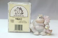"""Precious Moments 521043 1989 """"To My Favorite Fan"""" Mint In Orig Box #461"""