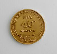 1986 Fresno Numismatic Society 40th Anniversary Medal