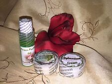 Green Peeling Oil Set with Anti Aging Cream and Hydrocortisone Cream Anti Itch