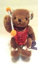 Collectible Bear Co. Annette Funicello Margie the Majorette Bear 8: with Stand