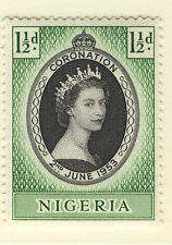 Mint Never Hinged/MNH Single Nigerian Stamps (Pre-1960)