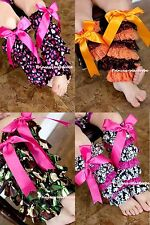 Newborn Baby Girl OPTIONAL MIX STYLE Lace Leg Warmer Stocking 4 Pettiskirt 2-6Y
