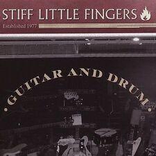 STIFF LITTLE FINGERS Guitar and Drum CD Punk Rock / Oi Protect & Serve Dead man