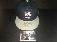 Drew Waters Atlanta Braves Autographed Signed 2016 Game Used Hat Cap 1