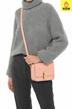RRP €665 SOPHIE HULME LONDON Leather Flap Crossbody Bag HANDCRAFTED in Italy
