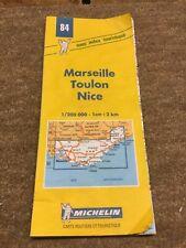Map Michelin Marseille Toulon Nice