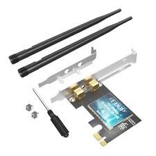 2.4GHz Internal WiFi Adapter WiFi Receiver PCI-E WiFi Card 300Mbps