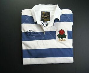 POLO RALPH LAUREN Men's Classic Fit Striped Rustic Jersey Rugby Polo Shirts NWT