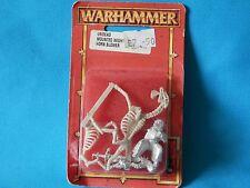 WARHAMMER Conti Vampiro-non morti montato Wight CORNO Blower IN BLISTER fuori catalogo D