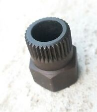 VW 33 teeth spline Free-Wheeling V-Belt Pulley Removal Alternator Socket Tool