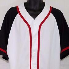Air Jordan Mens Baseball Jersey Blank SAMPLE Hand Sewn 2003 Made In USA Size M L