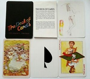 VINTAGE PLAYING CARDS ANDREW JONES THE DECK OF CARDS STUDIO 7 52 +2J+H+L 1979