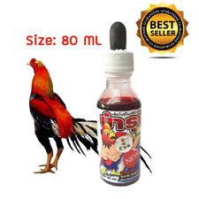 Thai Cell Rooster Vitamin B1,B2,B6,B12 K Protien Calcium Healthy Chicken 80 ml