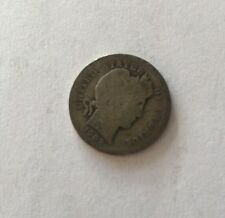1902 Barber Dime 10c Coin Very Rare See Pictures